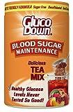 GlucoDown, Diabetic Friendly Formula Tea Mix, Delicious Peach
