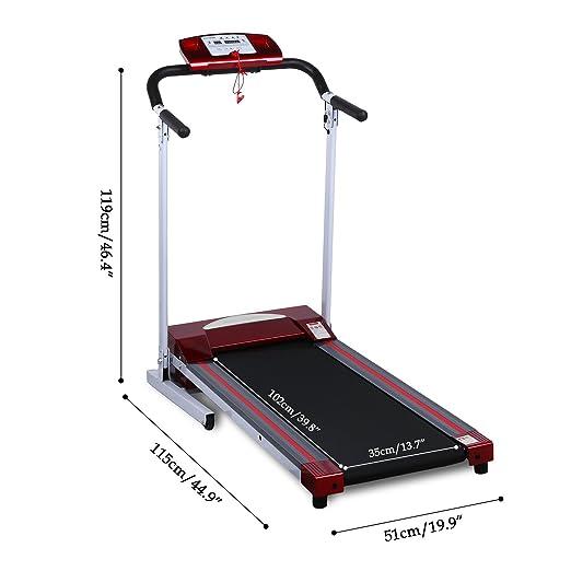 Ancheer Cinta de Correr eléctrica Fitness Dispositivo Plegable ...