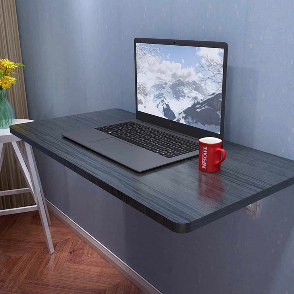 nueva marca 6040cm 6040cm 6040cm Kinder Tisch Holz Computer Schreibtisch Wand-Drop-Blatt Tisch Klapp Schreibtisch Esstisch negro Wand Tisch Studie Laptop Tisch Schreibtisch Floating Wall Shelf (Tamaño   100  40cm)  mas barato