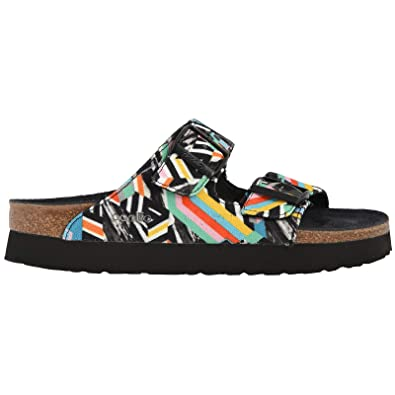 31a524fcb9d Papillio Unisex Arizona Pattern Clash Textile Polychromatic Sandals 6 W   4  M US
