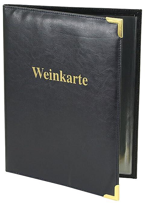 Artículos de Cuero Friedrich 40180-5 menús, Carta de vinos ...