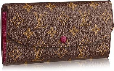 Louis Vuitton Monogram Canvas Monogram Canvas Emilie Wallet Article M60697 Fuchsia At Amazon Women S Clothing Store