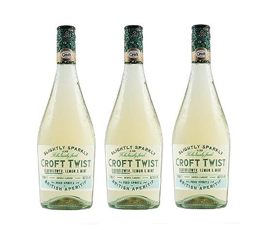 Croft Twist Vino Fino DO Jerez – 3 botellas de 750 ml – Total: 2250 ml