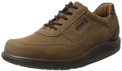 Hopkin, Chaussures à Lacets Homme - Marron - Braun (Crazy-Horse Palmer Tabak Schwarz)Waldläufer