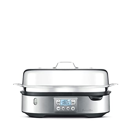 Amazon breville bfs800bss food steamer silver kitchen dining breville bfs800bss food steamer silver forumfinder Image collections