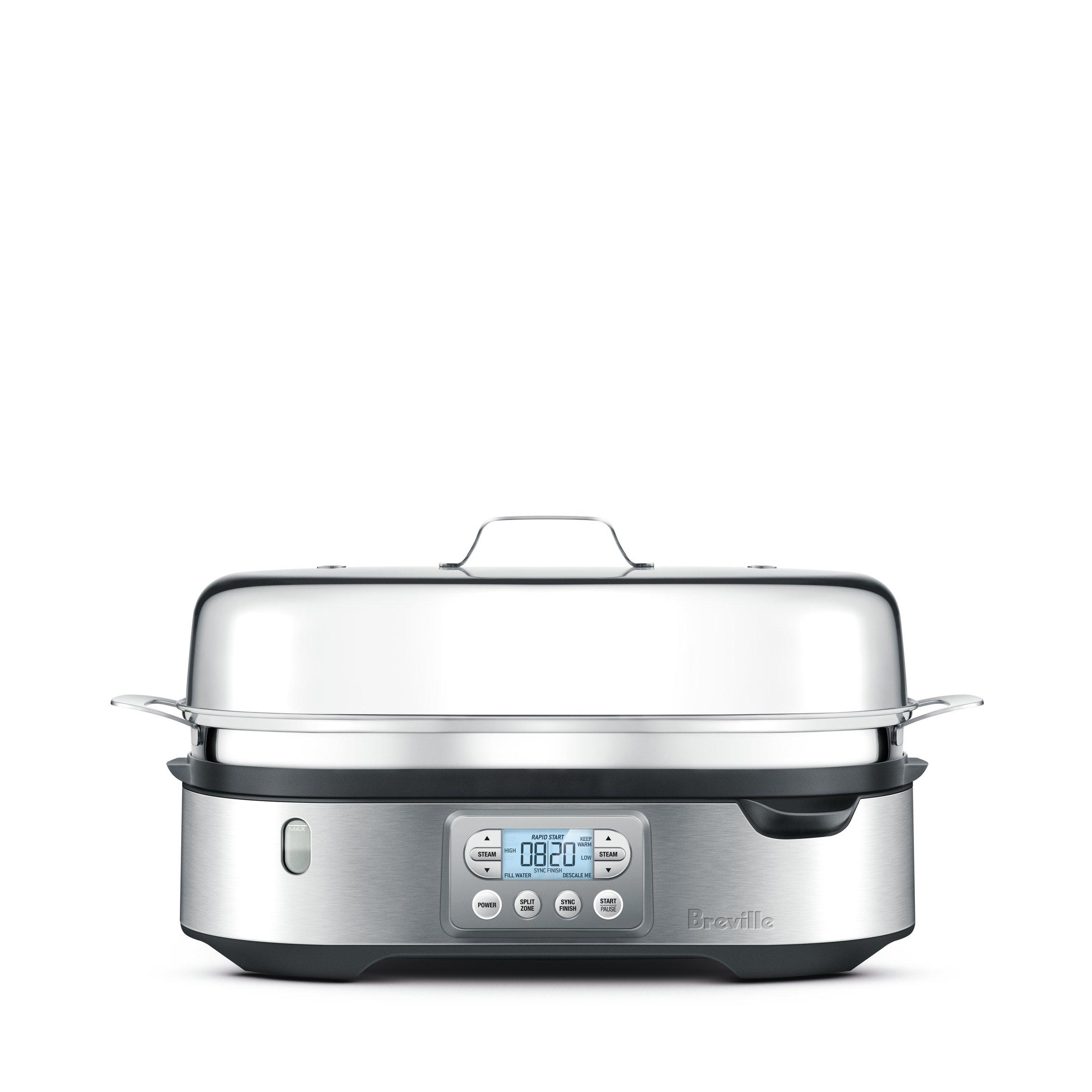 Breville BFS800BSS Food Steamer, Silver