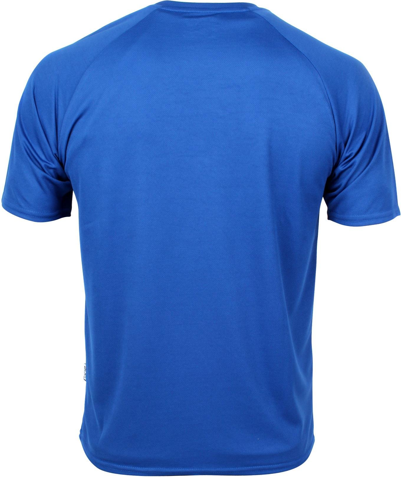 Basic Funktions - Sport T-Shirt in vielen Farben Farbe Royal Blue Größe L