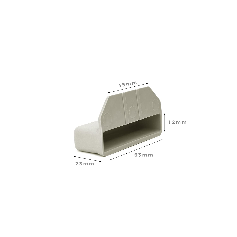 Supports Lattes Caches Lit pour Encadrements en Bois 63/mm x 12/mm Lot de 10