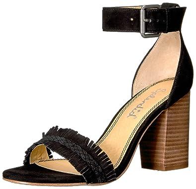 Splendid Women's Jakey Dress Sandal, Black, ...