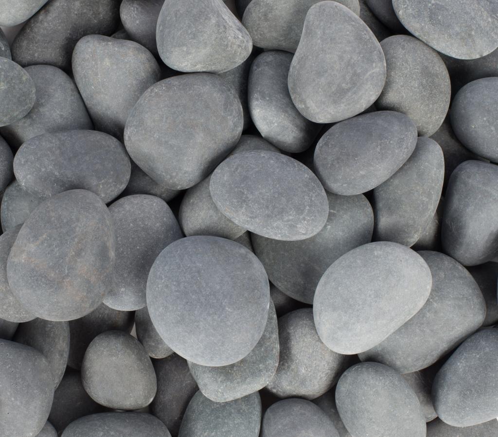 Margo Garden Products RFGMBP3-30 Beach Pebbles Rainforest, Mexican Grey