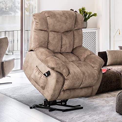 Bonzy Home Power Recliner Chair Overstaffed