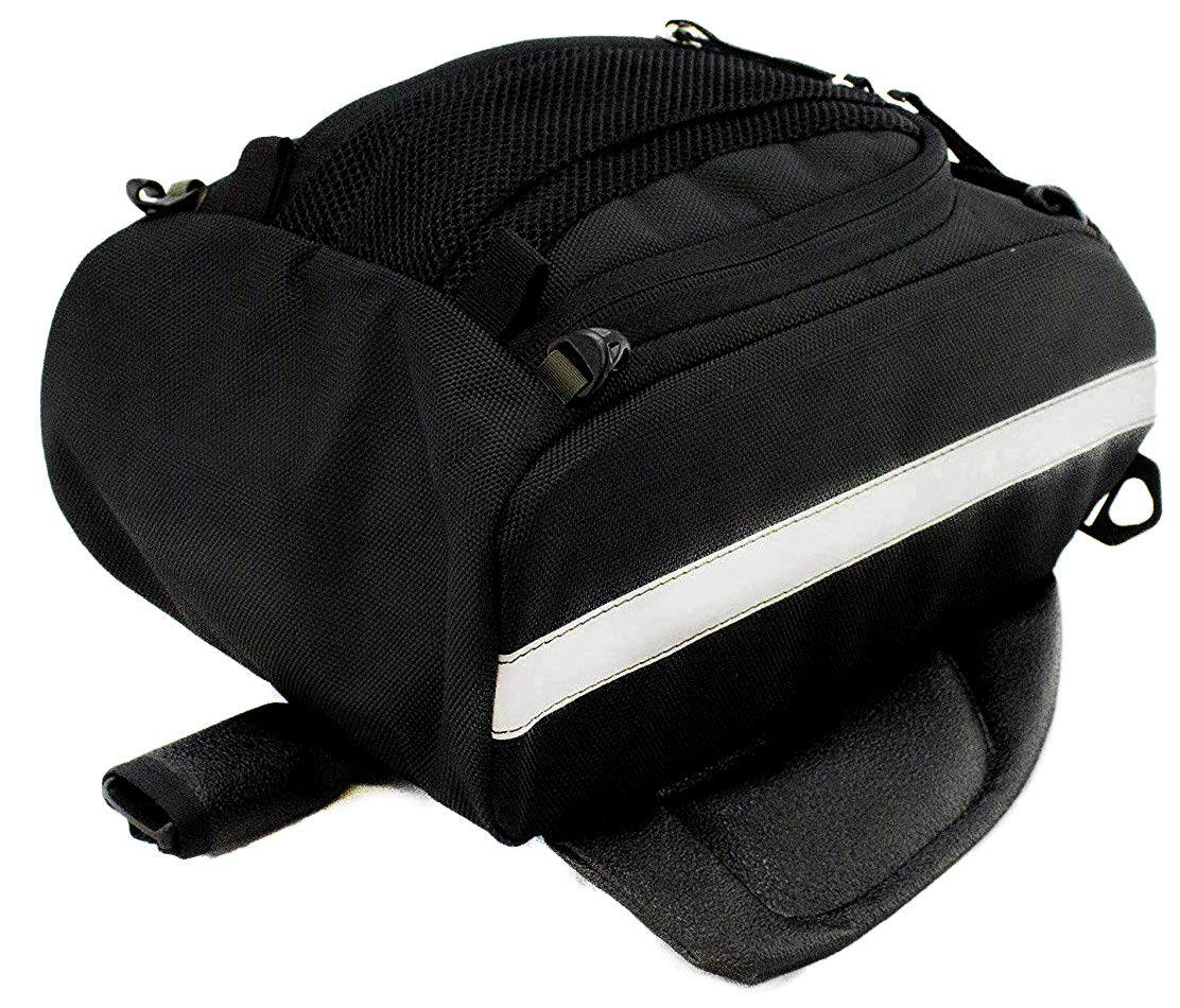 Chase Harper 1700M Black Mini Aeropac Magnetic Tank Bag - 7 Liters by Chase Harper USA (Image #2)