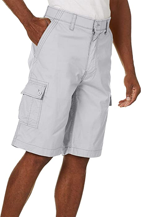 cfee24c97e Wearfirst Mens Solid Ripstop Cargo Shorts 30W High Rise Grey ...