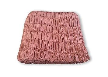 Divano Rosa Cipria : Biancheriaweb copridivano universale arricciato rosa antico 3 posti