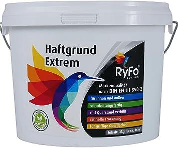 RyFo Colors Haftgrund Extrem Kg Größe Wählbar Fliesen - Haftgrundierung für fliesen