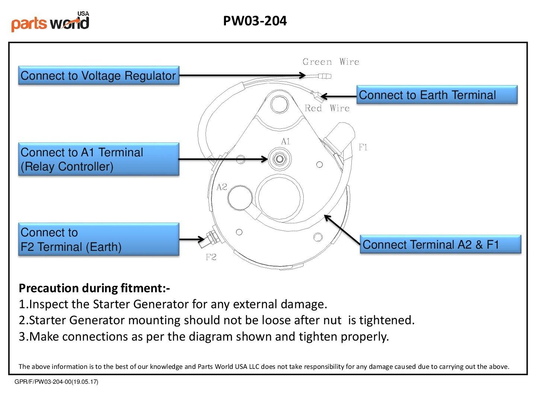 WRG-4083] Par Car 2 Cycle Starter Generator Wiring Diagram on