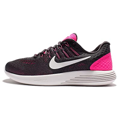competitive price c1b7b 0cfae Image Unavailable. Image not available for. Color  Nike Lunarglide 8 Pink  Blast Anthracite Cool Grey Summit White Womens Running Shoes