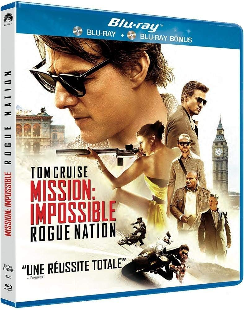 M:I-5 - Mission : Impossible - Rogue Nation Italia Blu-ray: Amazon ...
