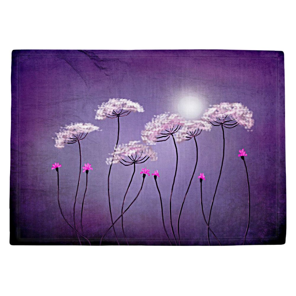 DIANOCHEキッチンPlaceマットby Tara Viswanathan – Moondance Set of 4 Placemats PM-TaraViswanMoondance2 Set of 4 Placemats  B01EXSHLHE