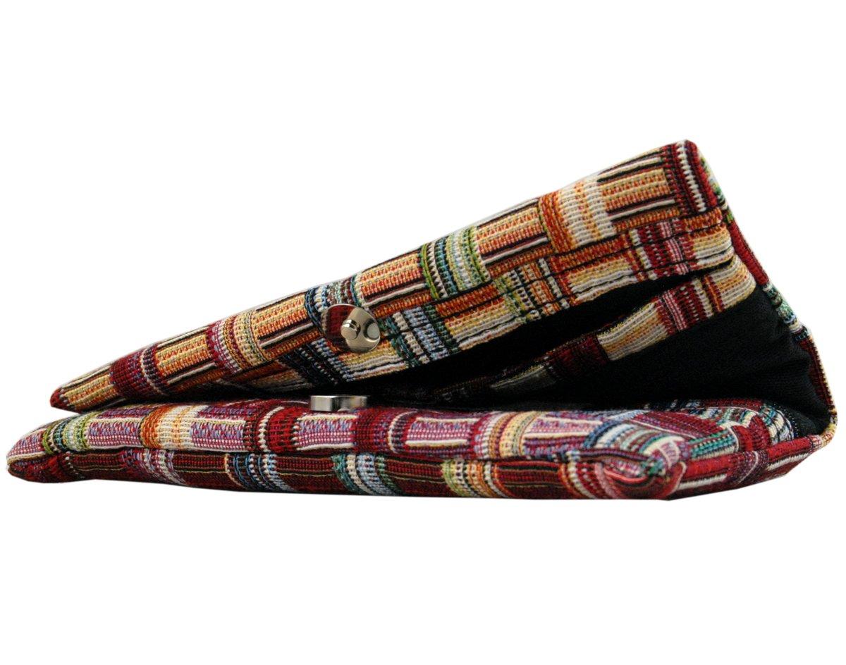 mit EVA-Gummi Tasche Bis mit zu 50 Gramm Tabak Mehrfarbig 17,5 x 8,5 cm Plan B Tabakbeutel YOLO Ness