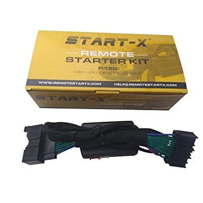 Start-X Remote Starter For Ford F150 F-150 2015-2020, F-250 17-19, Ranger 2020, Expedition 18-19, Edge 15-19,Fusion 14-19 (NO HONK-LOCK-UNLOCK-LOCK): Automotive