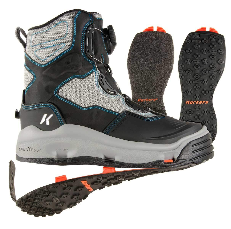 結婚祝い KorkersレディースDarkhorse Boots Wading Boots Womens 11 &スタッズkling-on kling-on Womens &スタッズkling-on B07BNK2KV5, クリアプロ:0723d3ca --- a0267596.xsph.ru