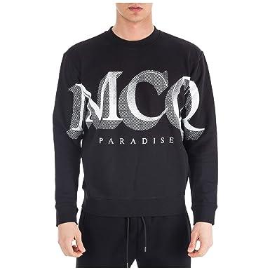 765ff0bce4c McQ Alexander McQueen Men Sweatshirt Paradise Nero  Amazon.co.uk  Clothing