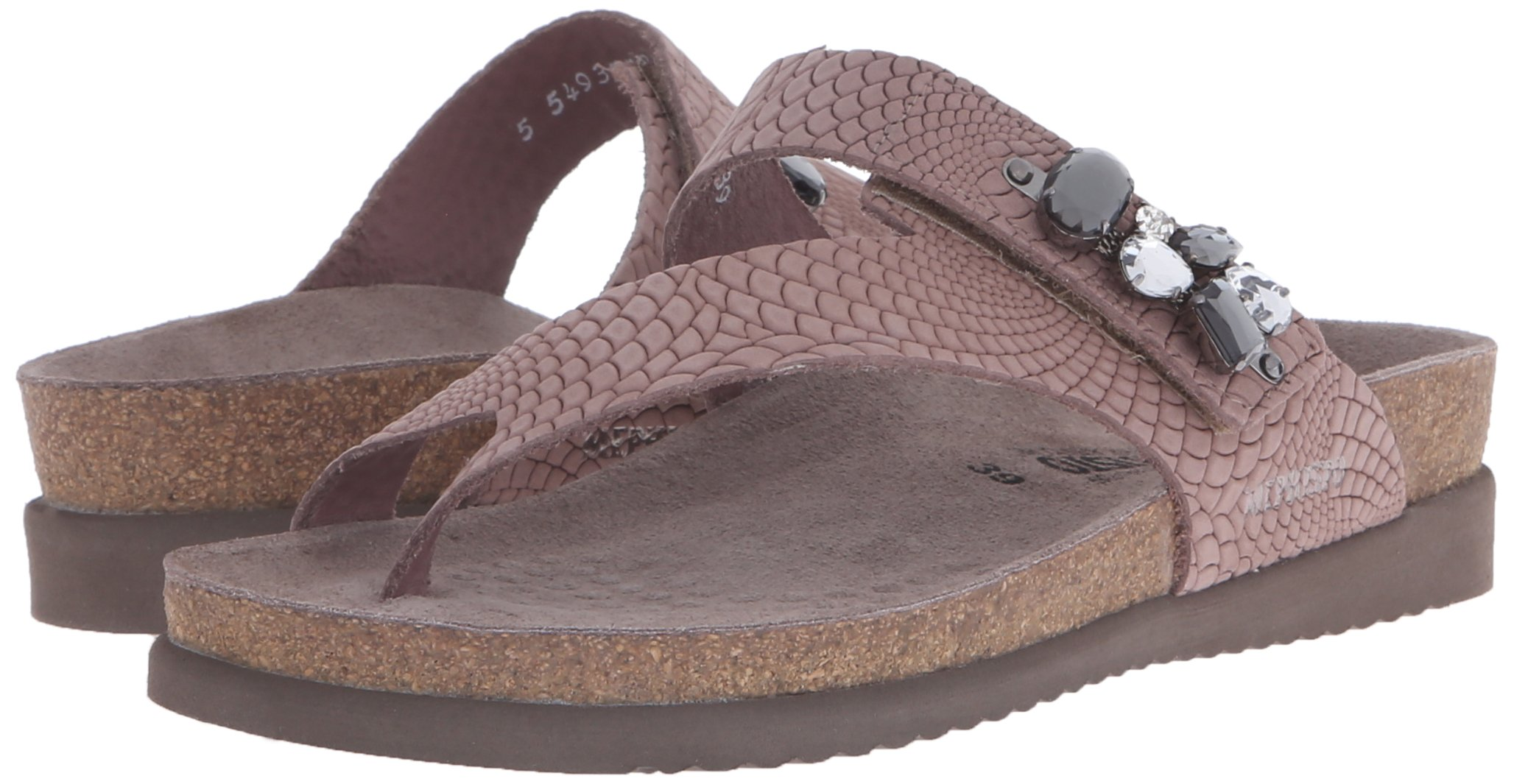 Mephisto Women's Halice Flip Flop, Old Pink Rio, 9 M US by Mephisto (Image #6)