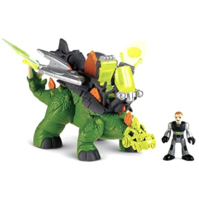 Fisher-Price Imaginext Stegosaurus Dino: Toys & Games