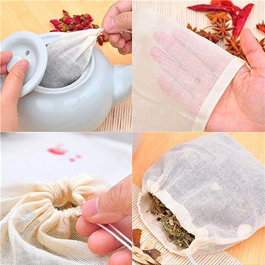 Outstanding® 10pcs té de Gasa de algodón 13x16cm Huevos de ...