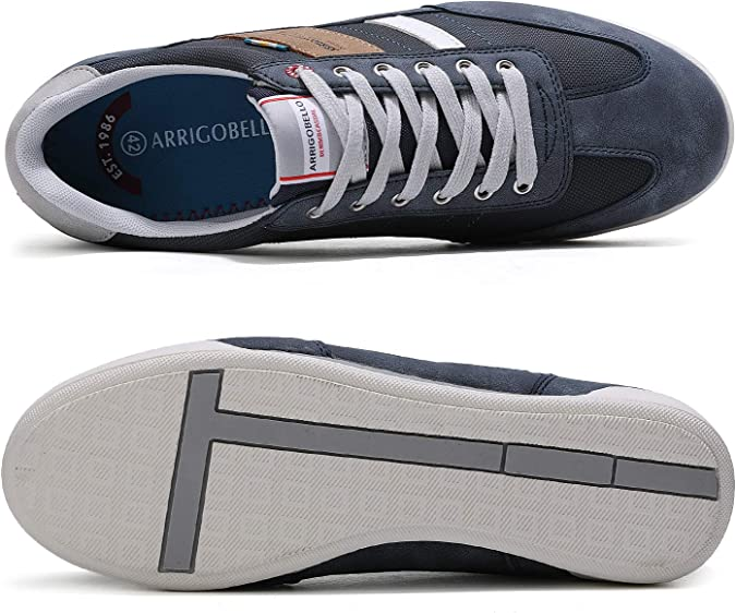 ARRIGO BELLO Chaussure Homme Baskets Sneakers Casual Sport Running Espadrilles Athl/étique Courtes Fitness Tennis 40-46