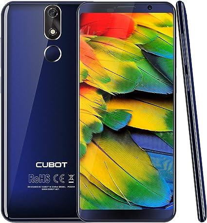 CUBOT Power Teléfono Móvil Android 8.1 Dual 4G LTE 6GB de RAM 128 ROM 5.99 Pulgadas FHD + Pantalla 18: 9 MT6763T ...