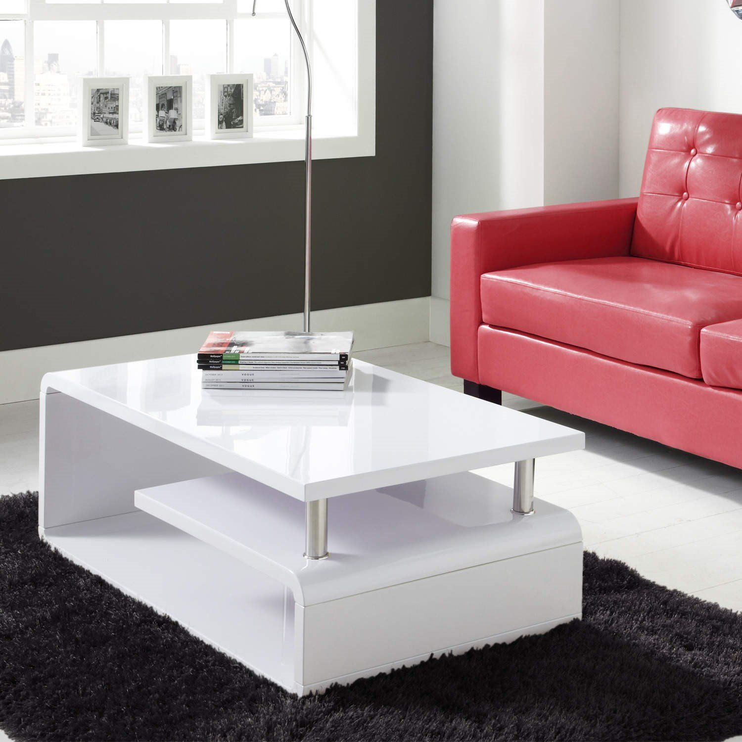 White high gloss assymetrical coffee table amazon kitchen white high gloss assymetrical coffee table amazon kitchen home geotapseo Gallery