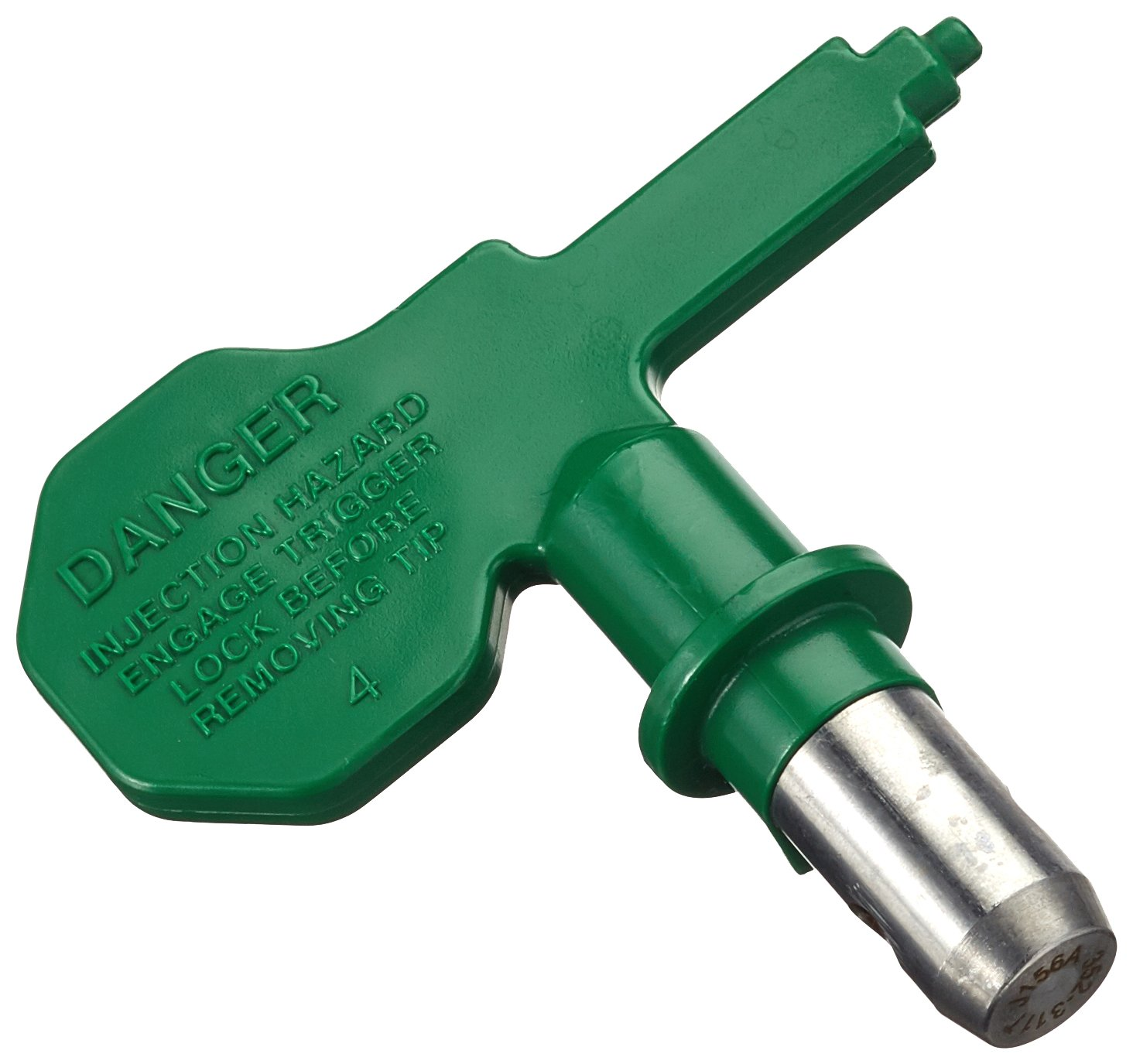 Wagner 517311 Control Pro Airless Sprayer HEA Tip 311 for Wood & Metal Paint, 55% Less Spray Mist, Green