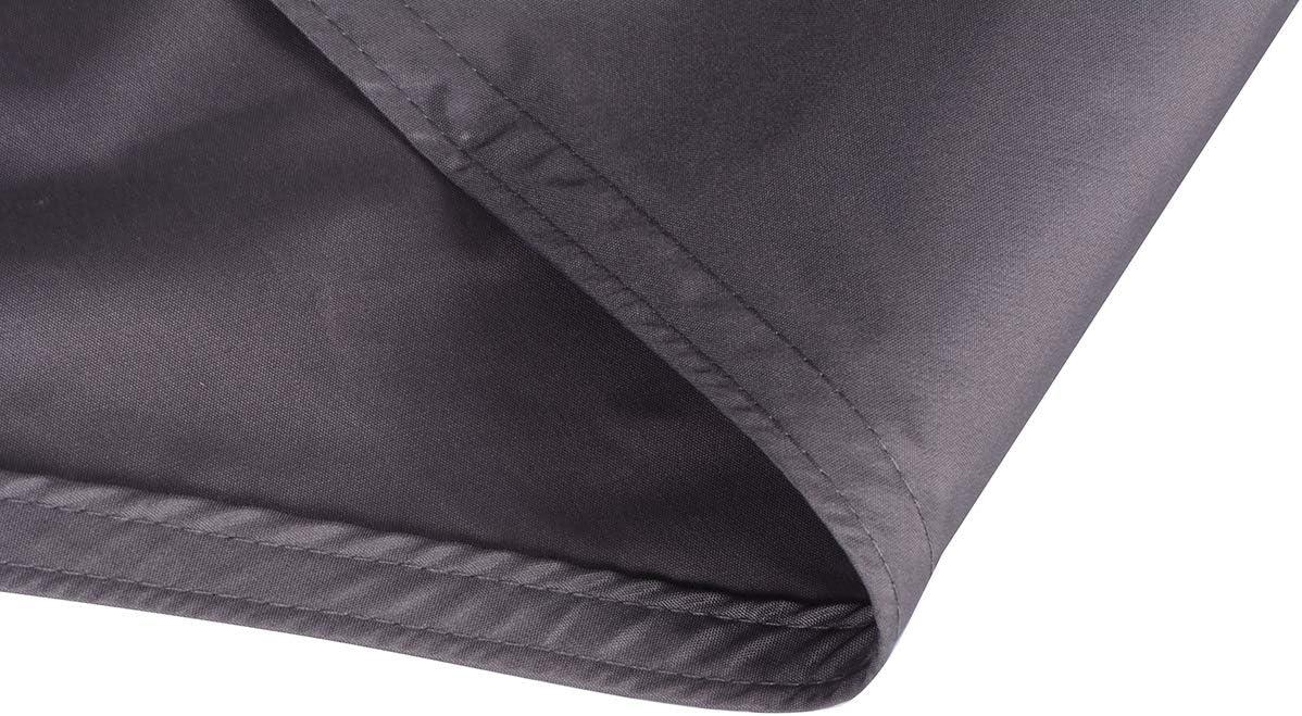 Exteriores Color Antracita Jard/ín SUNNY GUARD Toldo Vela de Sombra Rectangular 2x3m Impermeable a Prueba de Viento protecci/ón UV para Patio