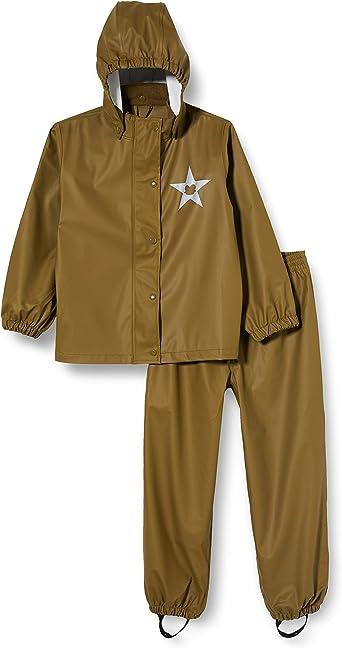 Freds World by Green Cotton Boys Rainwear Set Rain Jacket