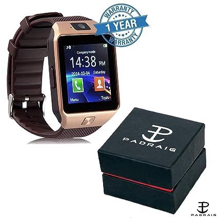 b5d6980c5807cf Padraig Camera & SIM Card Supported Bluetooth DZ09 Smartwatch for all  Smartphones