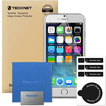 iPhone 6S Screen Protector, TeckNet® 3-Pack Ultra Clear High Response 4H Hardness HD Screen Protector For Apple iPhone 6S and iPhone 6, [Importado de UK]: Amazon.es: Electrónica