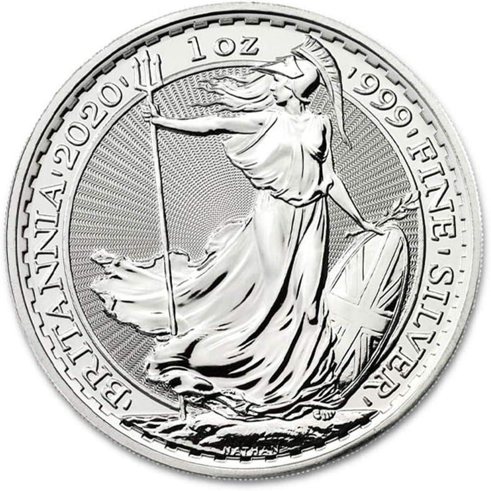 2019 Silver Britannia Collectible Coin by The Royal Mint .999 Silver 1 oz Coin