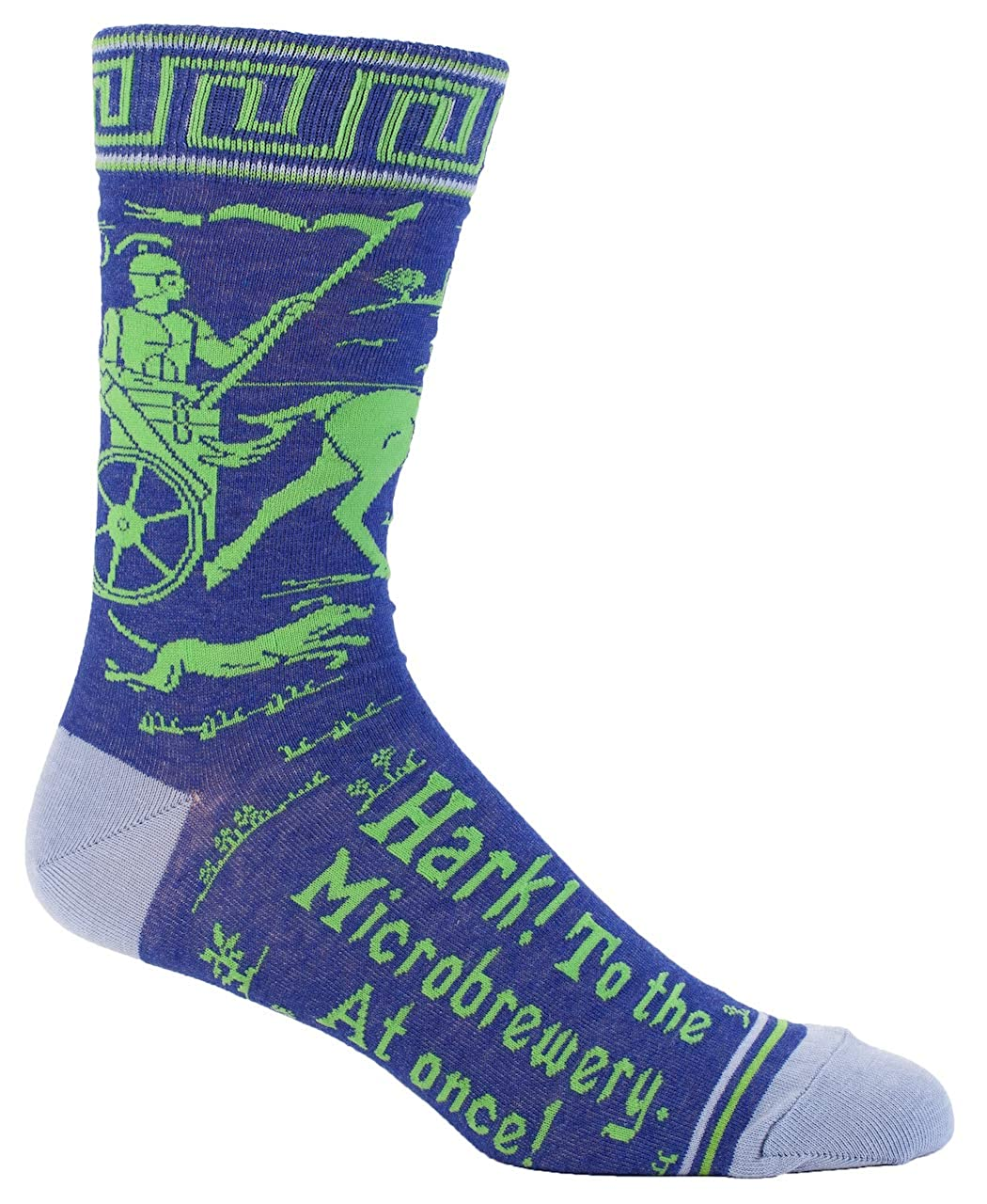 Blue Q Azul Q calcetines, Hombres de tripulación