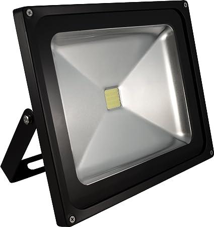 Ecolit Proyector LED 10W 6000K blanco frío IP67 a prueba de ...