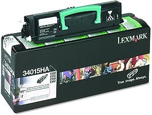 Lexmark 34015HA Return program print cartridges for ibm e330, e332, high-yield