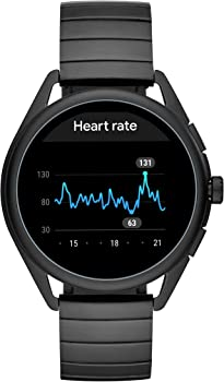 Smartwatch 3- Powered with Wear OS by Google with Speaker, Heart Rate, GPS, NFC, and Smartphone Notifications