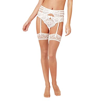 432b6e7940eba J By Jasper Conran Womens Designer Natural 10 Denier Lace Trim Stockings  Nude: Debenhams: Amazon.co.uk: Clothing