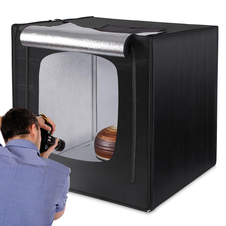 Amzdeal Caja de Luz Fotografia 80 x 80 x 80cm...