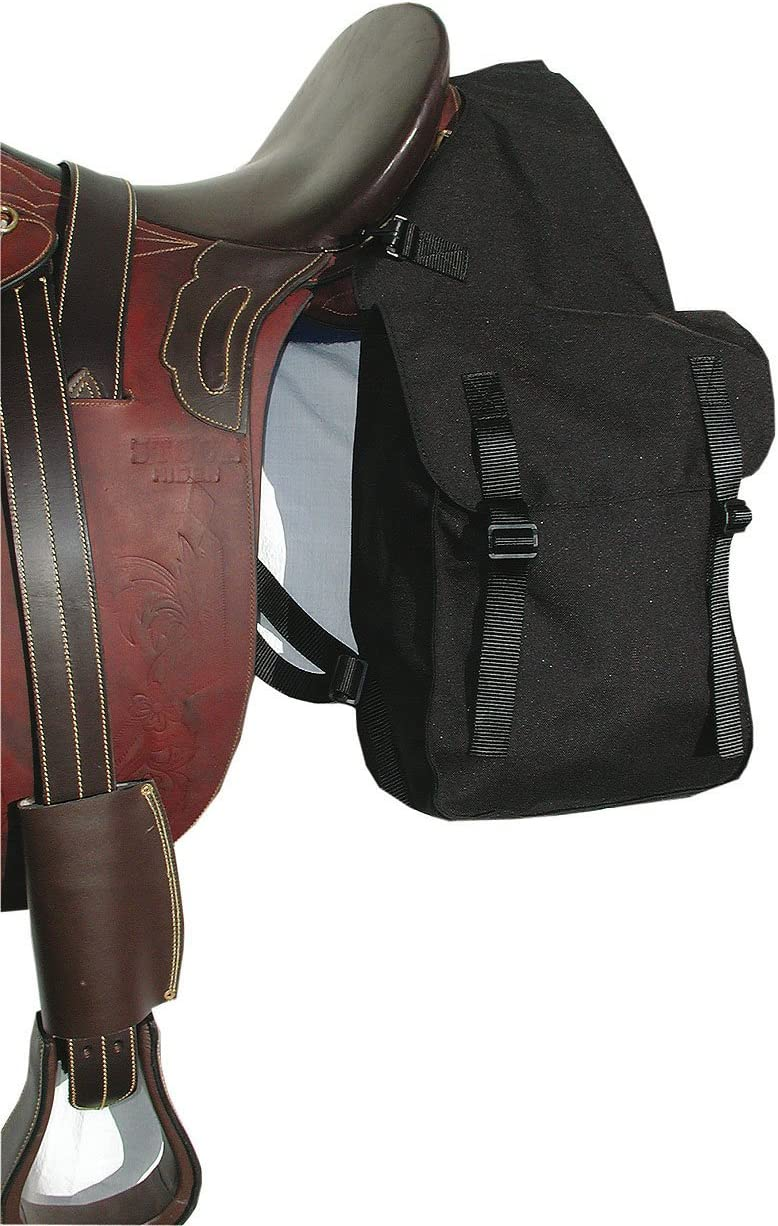 Sillín funda para caballos, pack funda | doble Pack – Bolsa de nailon/cordura, color negro