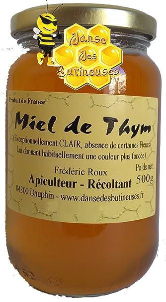 miel de thym apiculteur