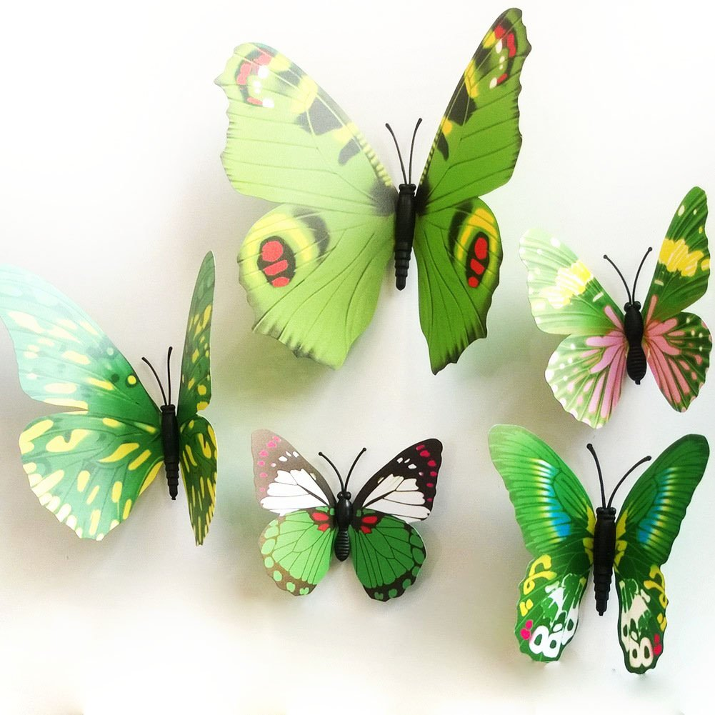 butterfly wall decals girls