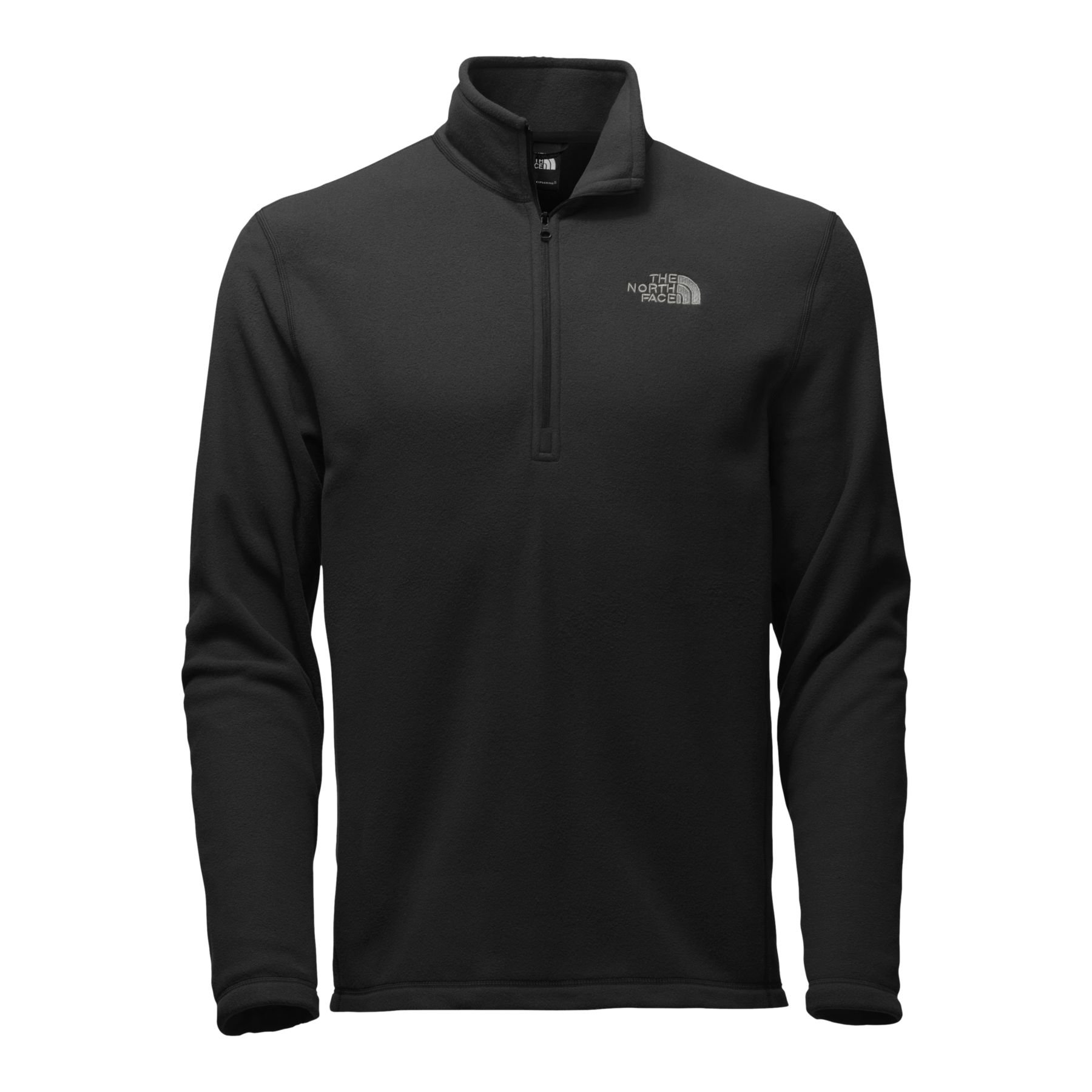 The North Face Men's TKA 100 Glacier 1/4 Zip TNF Black MD by The North Face