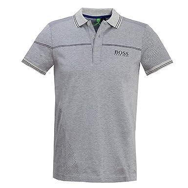 436f4722 Amazon.com: Hugo Boss Mens Polo Paddy Pro 3 50403542 057 (Grey ...